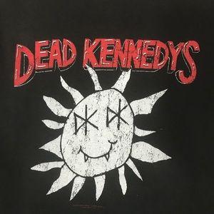 Tultex Tops - Vintage Sunshine Dead Kennedys Punk Band Tee